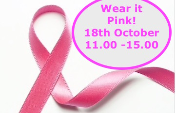 Breast Cancer Charity 18th October 11.00