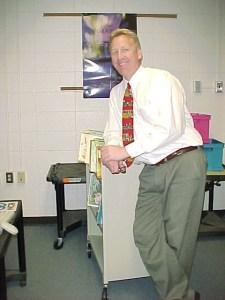 Bill jobbar i dag som lärare.