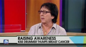 "Peter Criss med i ""Fox & Friends""."