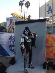 KISS på Dodgers Stadium i Los Angeles