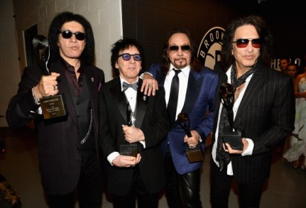 29th Annual Rock And Roll Hall Of Fame Induction Ceremony - Inside