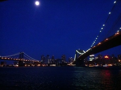 Blue Moon Over Brooklyn