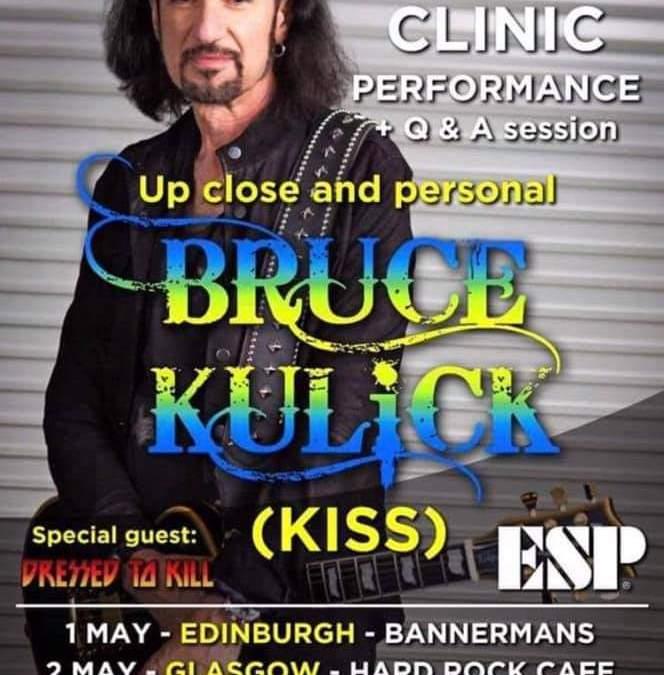 Event med Bruce Kulick