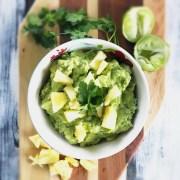 Pineapple Guacamole