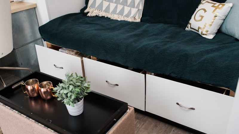 Using your small spaces