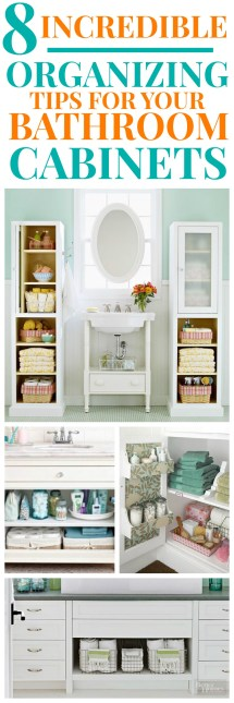 ORGANIZATION TIPS FOR YOUR BATHROOM