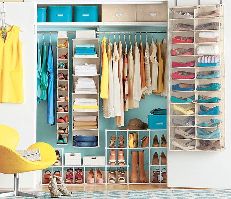 15 Creative Closet Organizing & Storage For Your Home