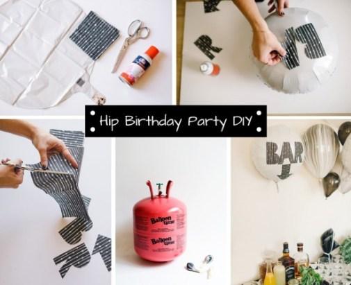 diy party balloon decor ideas