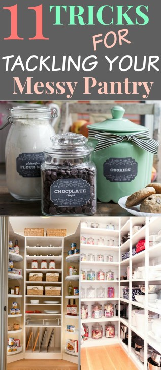 organizing and pantry storage