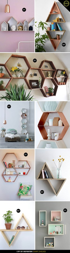 SHAPE SHELVES