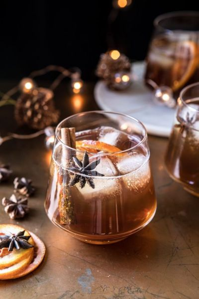 Vanilla chai, Old fashioned, cocktail drink, holiday cocktails