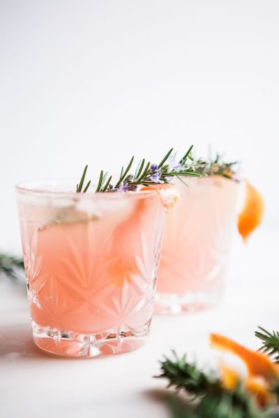 Holiday Cocktail Drink, Gin Cocktails