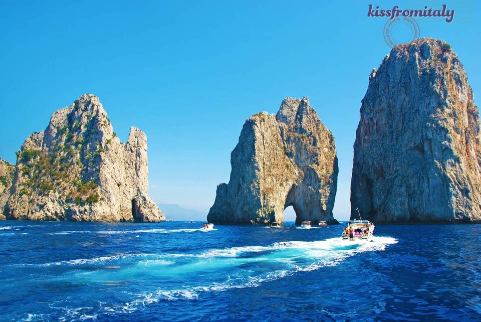 Capri Island Boat Tour From The Port Of Naples