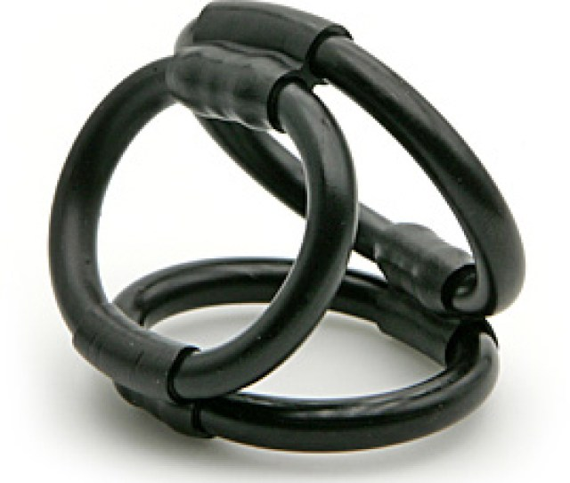 Tri Ring Cock Cage Cockring