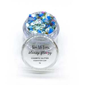 festival cosmetic glitter blue glitter beard Kiss My Fairy Ibiza UK