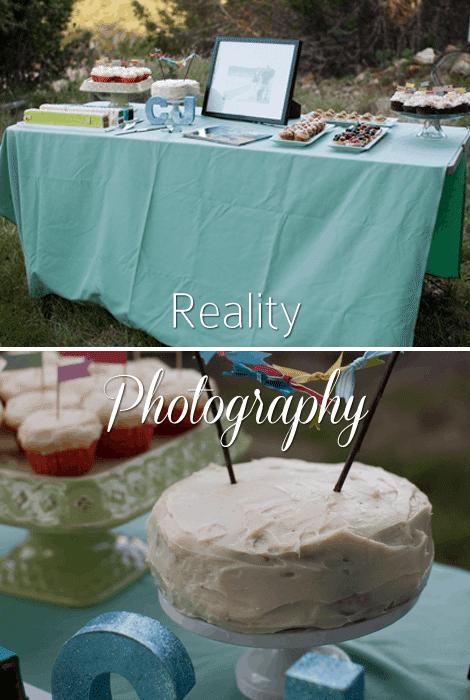 Reality Photography Wedding Cake