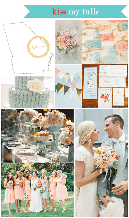 Georgia State Wedding Inspiration