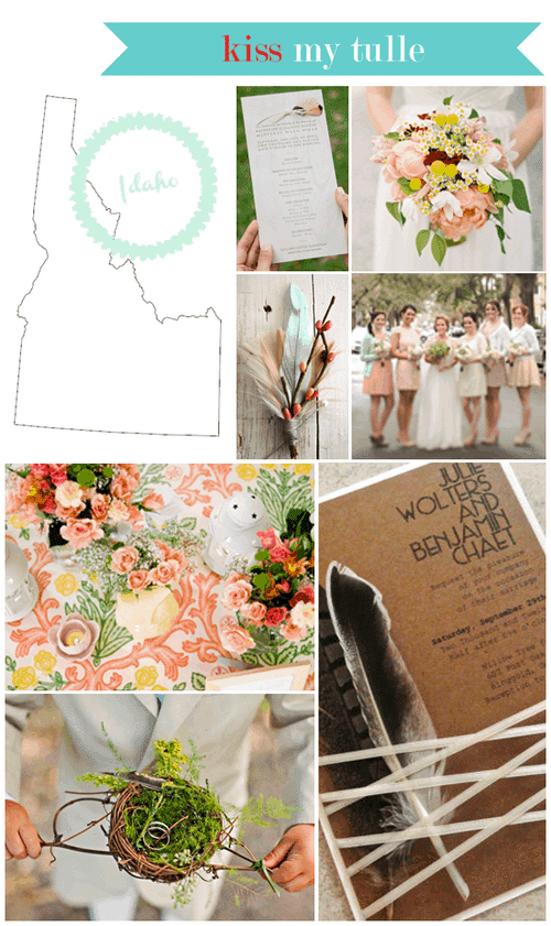 Idaho State Wedding Inspiration
