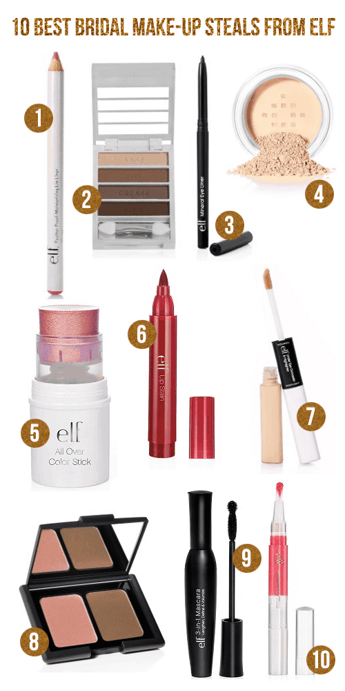 10 Best Bridal Make-Up Steals from ELF