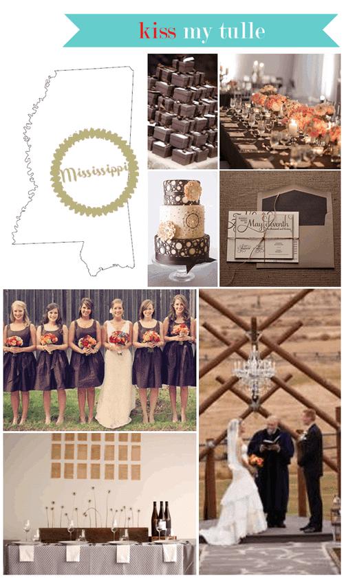 Mississippi State Wedding Inspiration