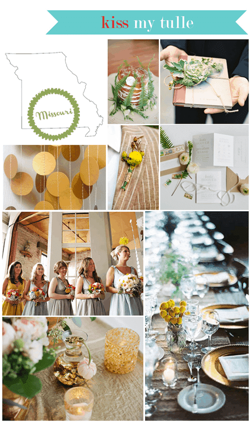 Missouri State Wedding Inspiration