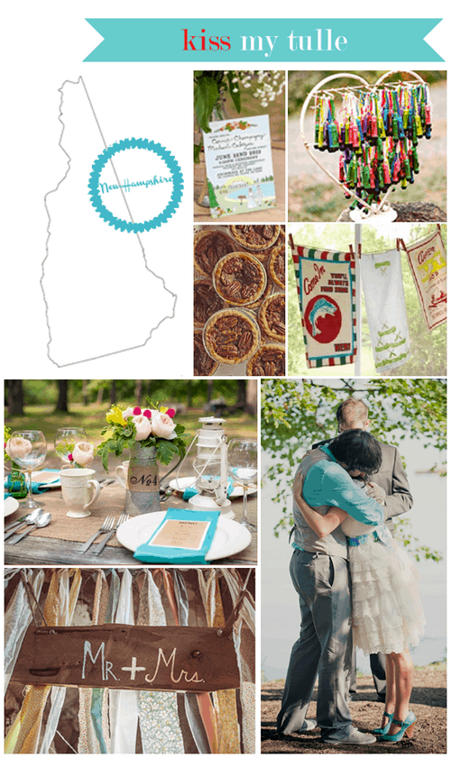 New Hampshire State Wedding Inspiration
