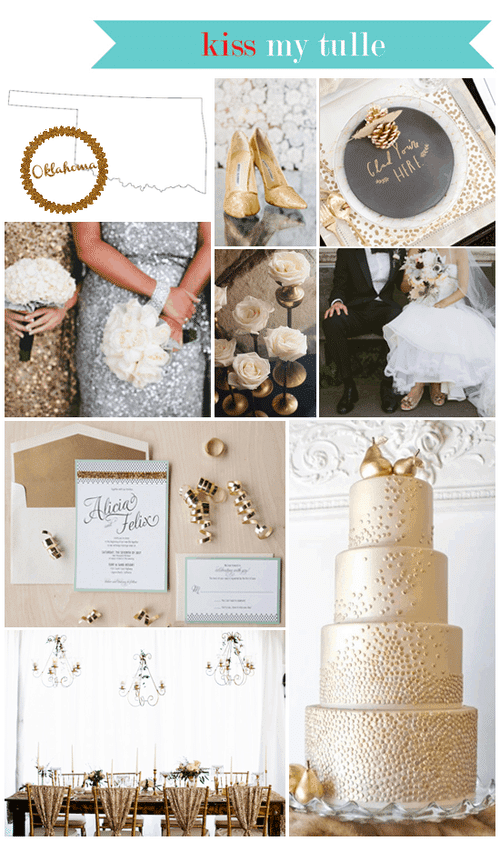 Oklahoma State Wedding Inspiration