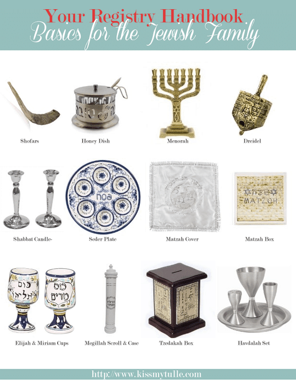 The Registry Handbook: Basics for the Jewish Family
