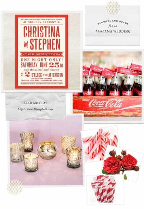Flowers and Decor for an Alabama Wedding