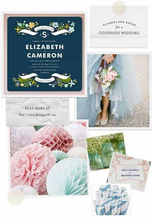 Check out these suggestions for flowers and decor for a Colorado wedding!