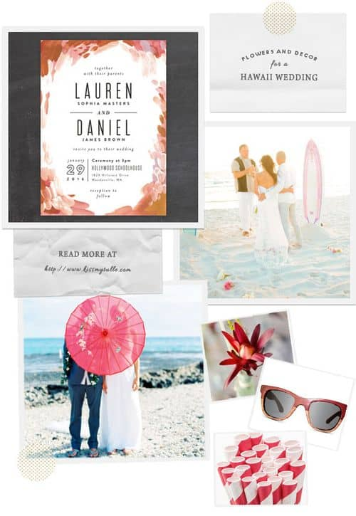 Check out these suggestions for flowers and decor for a Hawaii wedding!