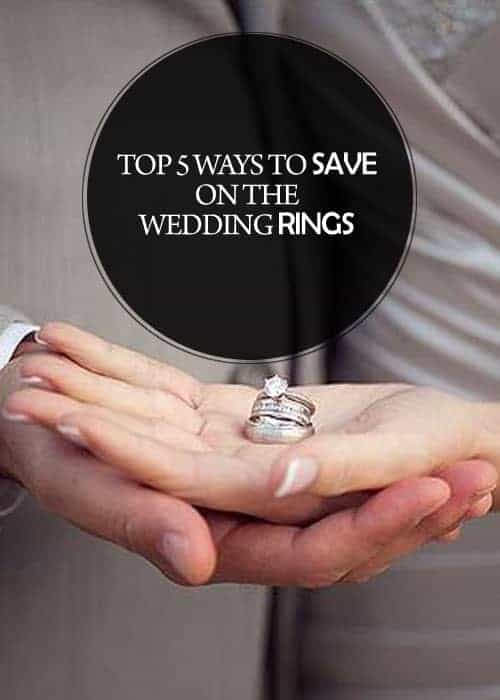 5 Ways to Save on the Wedding Rings || Kiss My Tulle
