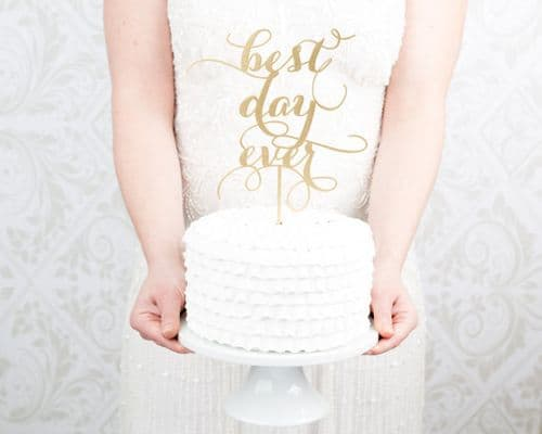 My 9 Favorite Wedding Cake Toppers from Etsy || Better Off Wed