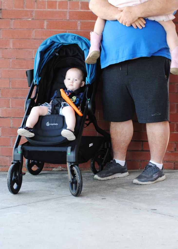 Great Stroller for a Small Car - the Ergo 180 Reversible Stroller! #baby #smallspace #car #parenting