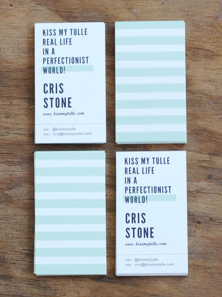 My #1 Blogging Conference Tip is Bring a Great @Minted Business card! #ad #blogging #conferences #design #businesscard