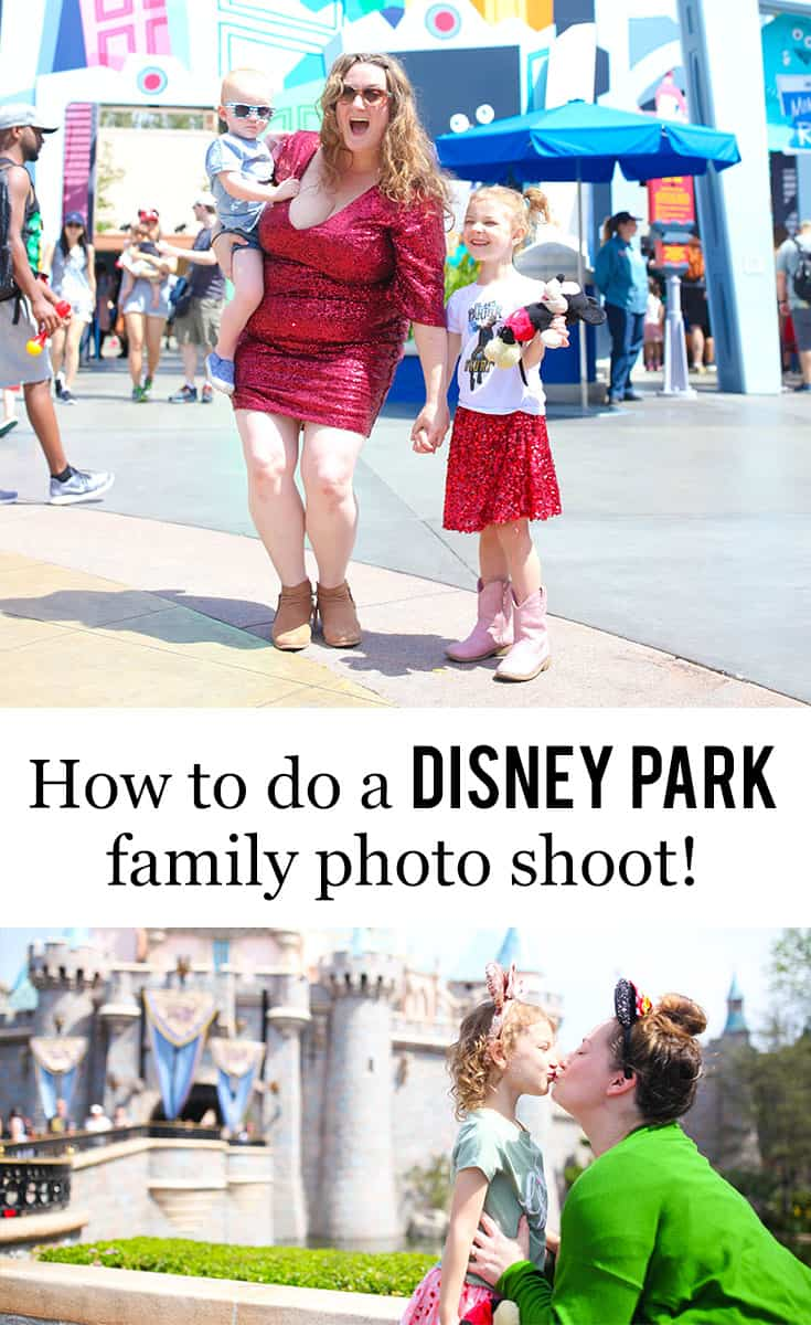 How To Do A #Disney Park Family Photo Shoot srcset=