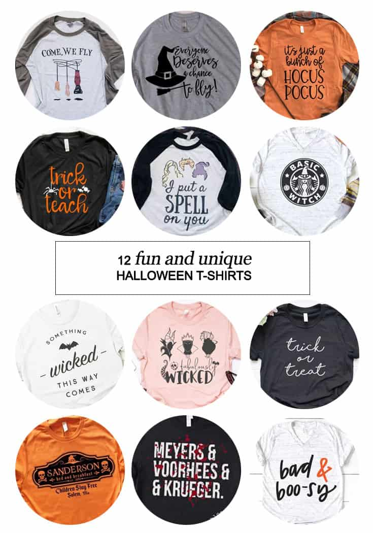 Fun and Unique #Halloween Shirts For You #fall #HocusPocus #fashion