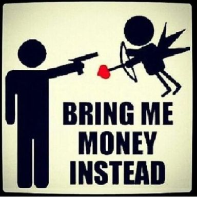 money over love