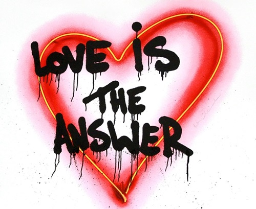 Stick with love and you'll find your answers in alignment