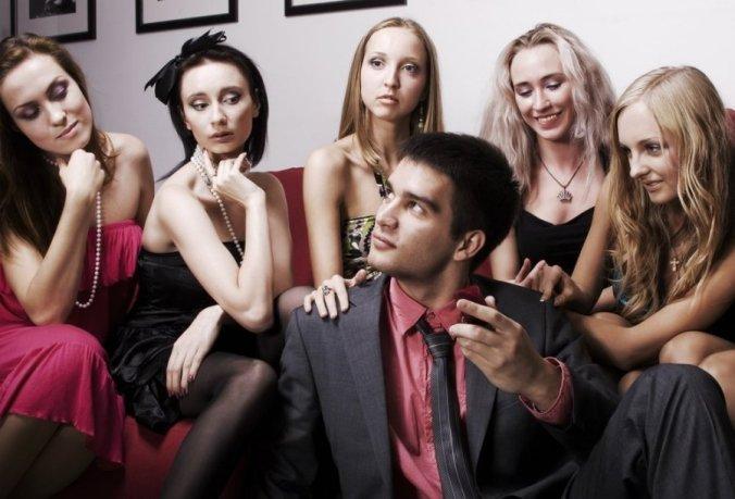 female-friends-man-multiple-women