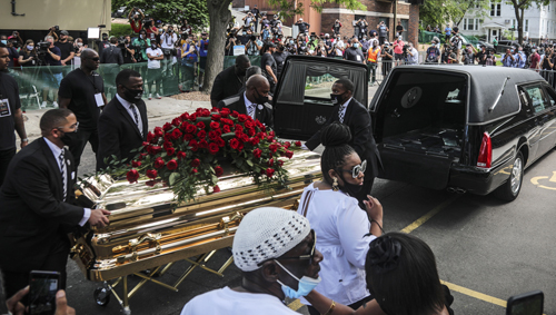 Goerge Floyd Funeral
