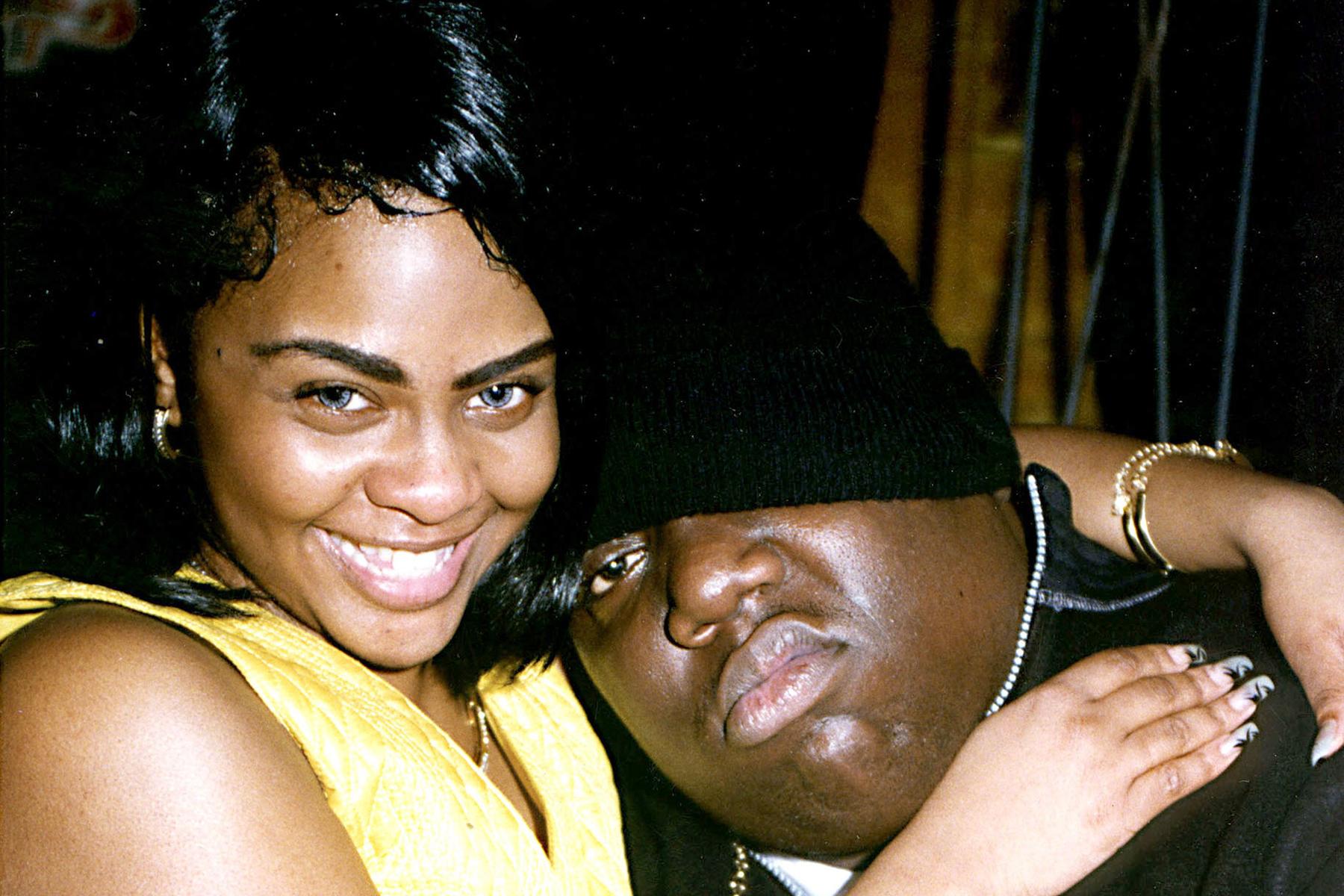 Lil Kim and Biggie Smalls 1996