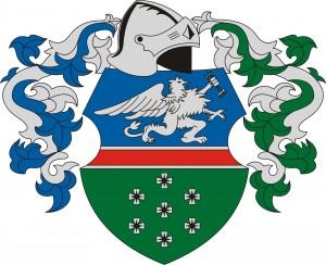 Kisszállás hivatalos címere