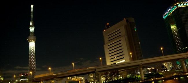 [Photolog] 2011年12月 東京スカイツリーのイルミネーション@浅草