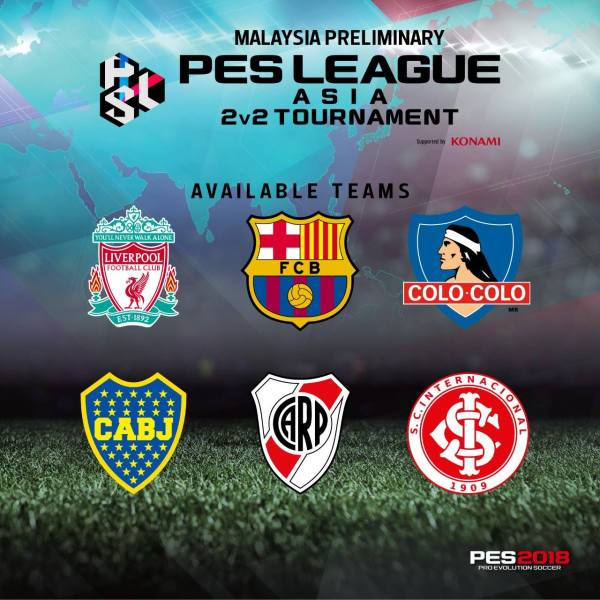 PES LEAGUE 2v2 at Kitamen