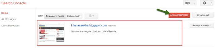 Add blog Succesfully Google Search Cansoler