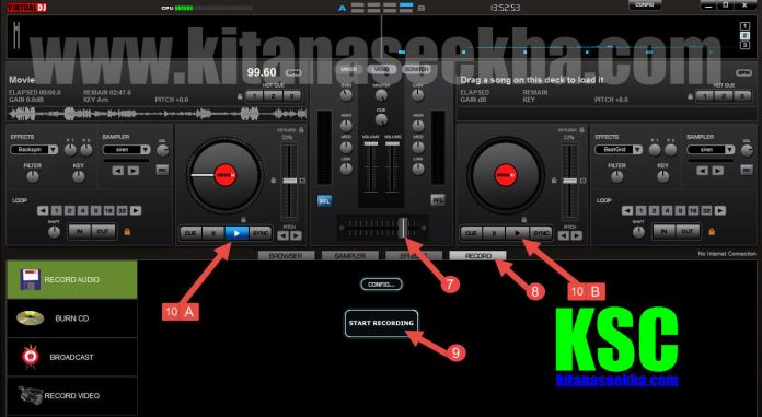 Mix Own Voice Or Music Create Dj Songs