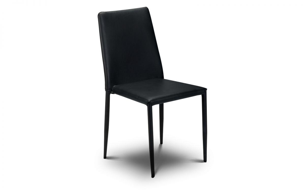 Jazz Black Stacking Chair