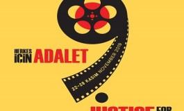9. Uluslararası Suç ve Ceza Film Festivali gösterim takvimi