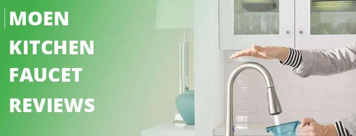 moen kitchen faucet reviews banner